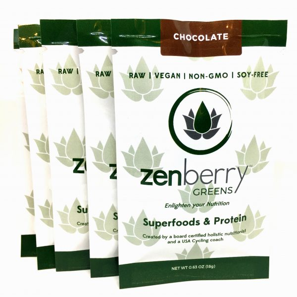 Zenberry SingleServing5Pack
